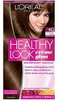 L'Oreal Healthy Look Healthy Look Creme Gloss Color Dark Golden Brown Golden Chocolate 4G