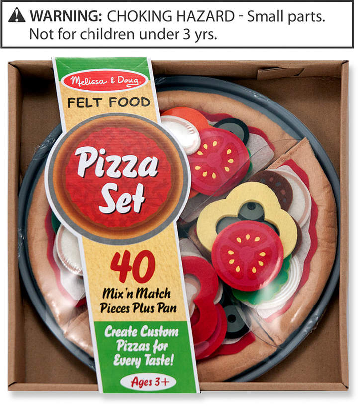 Melissa & Doug Kids Toys, Felt Pizza Set