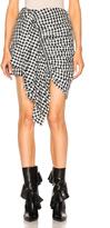 Marques Almeida Marques ' Almeida Shirting Front Gathered Skirt