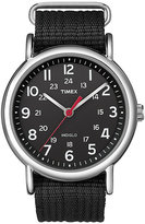 Timex Men's Weekender Black Nylon Strap Watch