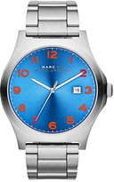 Marc Jacobs Men's Watch, Face On Silver Stainless-Steel Band