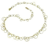 Orlando Orlandini Star - 18K Yellow Gold Circles Necklace
