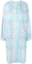 Natasha Zinko printed shirt dress - women - Cotton - 40