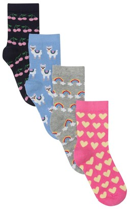 M&Co Pattern socks four pack