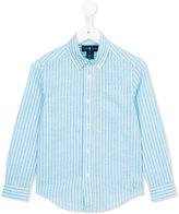 Ralph Lauren striped shirt - kids - Cotton/Linen/Flax - 5 yrs