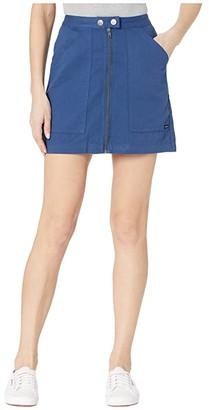RVCA Oconnor (Federal Blue) Women's Skirt