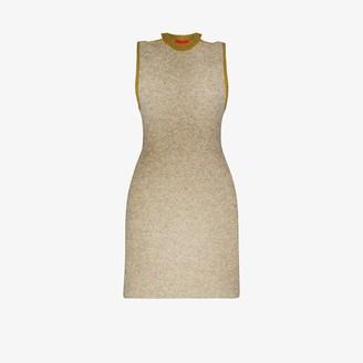 Eckhaus Latta Contrast Trim Knitted Dress