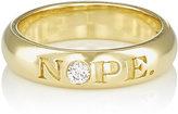 """Finn Women's """"Nope"""" & """"OK"""" Ring"""