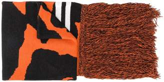 Marcelo Burlon County of Milan Cross camouflage scarf