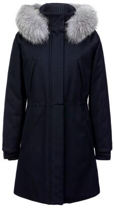 Loro Piana Cashmere Icery Long Storm Jacket
