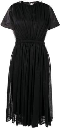 Comme des Garcons short-sleeve flared dress