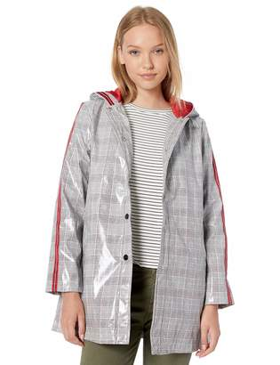 Urban Republic Women's Juniors Vinyl Shiny Jacket