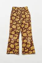 Urban Renewal Vintage Wrangler Yellow Floral Denim Pant