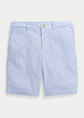 Ralph Lauren Slim Stretch Seersucker Short
