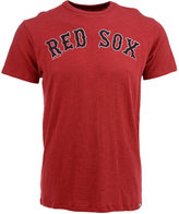 '47 Men's Short-Sleeve Boston Red Sox Scrum Wordmark T-Shirt