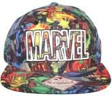 Bioworld Men's Licensed Marvel - Logo Sublimation Snapback Hat O/S Multi-Color