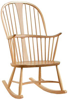 Houseology Ercol Originals Windsor Chairmakers Rocking Chair - White