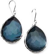 Ippolita Sterling Silver Wonderland Teardrop Earrings in Indigo