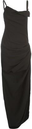 Jacquemus La Robe Saudade Longue Long Dress Thin Strap
