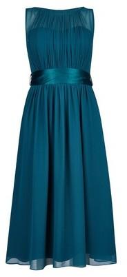 Dorothy Perkins Womens Showcase Forest Green 'Bethany' Midi Dress, Green