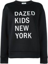 DKNY graphic print sweatshirt