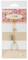 """Webster Charm Embellishment Lucky In Love-Multicolor 6""""x3"""""""