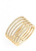 Nordstrom Women's Bony Levy 'Prism' Six-Row Diamond Ring Exclusive)