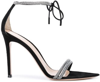 Gianvito Rossi Crystal-Embellished Sandals