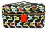 Orla Kiely Big Tulip Train Case Cosmetic Bag