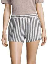 Splendid Striped Linen Shorts