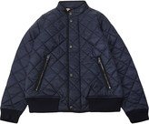 Burberry Rufus quilted bomber jacket 4-14 years