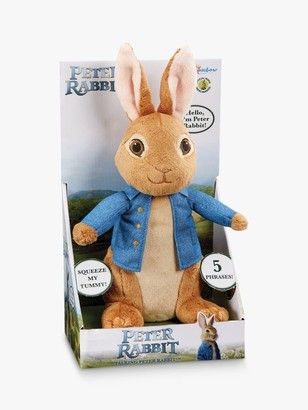 Peter Rabbit Talking Plush Soft Toy, Large