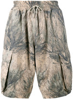 Yeezy camouflage cargo shorts - men - Cotton - XS