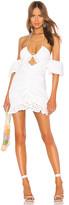 For Love & Lemons Sand Dollar Mini Dress