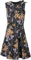 Victoria Beckham floral flared dress