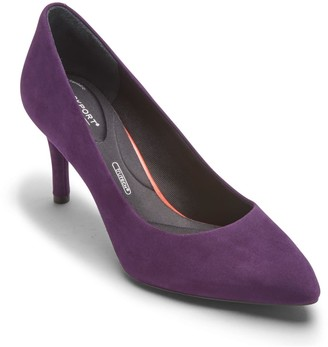 Rockport Total Motion Suede Pump - Wide Width Available
