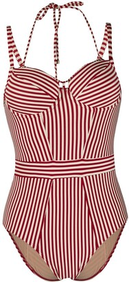Marlies Dekkers Striped Vintage-Style One Piece