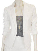 Emery Blazer in White