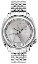 Vince Camuto The Veteran Silvertone Watch