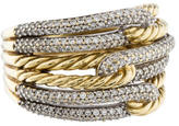 David Yurman Labyrinth Triple-Loop Diamond Ring