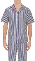 Sleepy Jones Men's Striped Henry Pajama Top