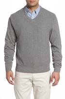 Cutter & Buck Men's Bryant V-Neck Sweater