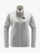 Haglöfs Swook Hood Women's Fleece Jacket, Haze