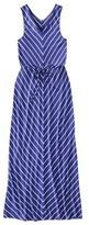 Merona Women's V-Neck Chevron Maxi Dress - Assorted Colors