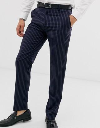 Tommy Hilfiger pinstripe suit pants