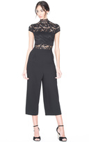 Alice + Olivia Elysia Pleated Gaucho Jumpsuit