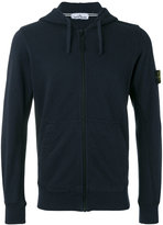 Stone Island zip hoodie - men - Cotton - M