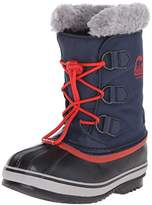 Sorel Yoot Pac Nylon, Unisex Kids Snow Boots, Blue (Collegiate Navy/Sail Red 464), 3.5 Child UK (36 EU)