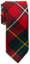 Oscar de la Renta Boys) Holiday Plaid Tie