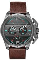 Diesel Men's Ironside Leather Strap Watch